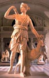 Artemis - The Greek symbol for the Moon.